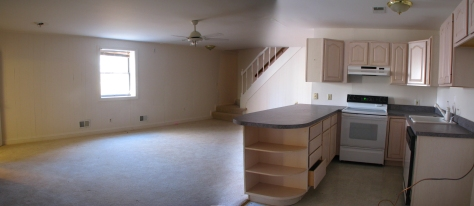 Full kitchen downstairs, too, along with full bath, bedroom, office and separate entrance. New washer and dryer, too!